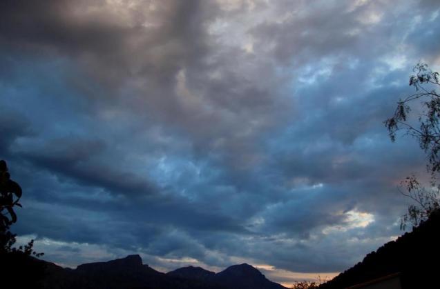 Mallorcan skies.
