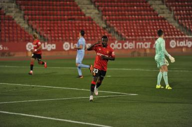 Mallorca's leading scorer Amath Ndiaye.