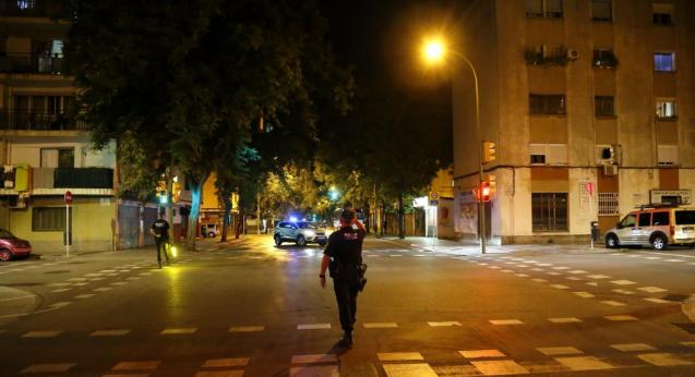 Curfew in Mallorca