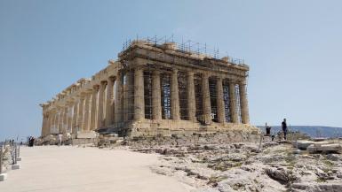 The Acropolis of Athens.