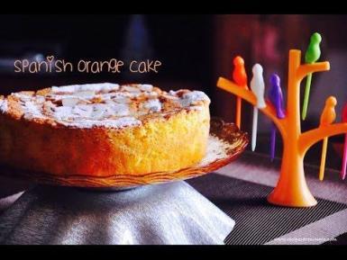 Spanish Orange Cake with Almonds