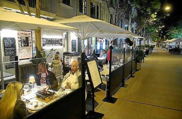 Terraces can open on certain evenings in Mallorca
