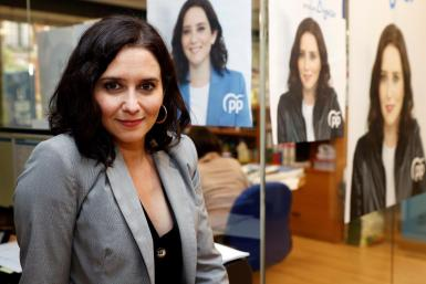Isabel Diaz Ayuso.
