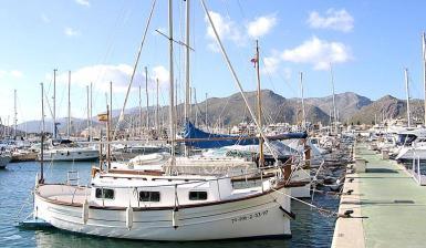 fisherman's boat in Puerto Pollensa