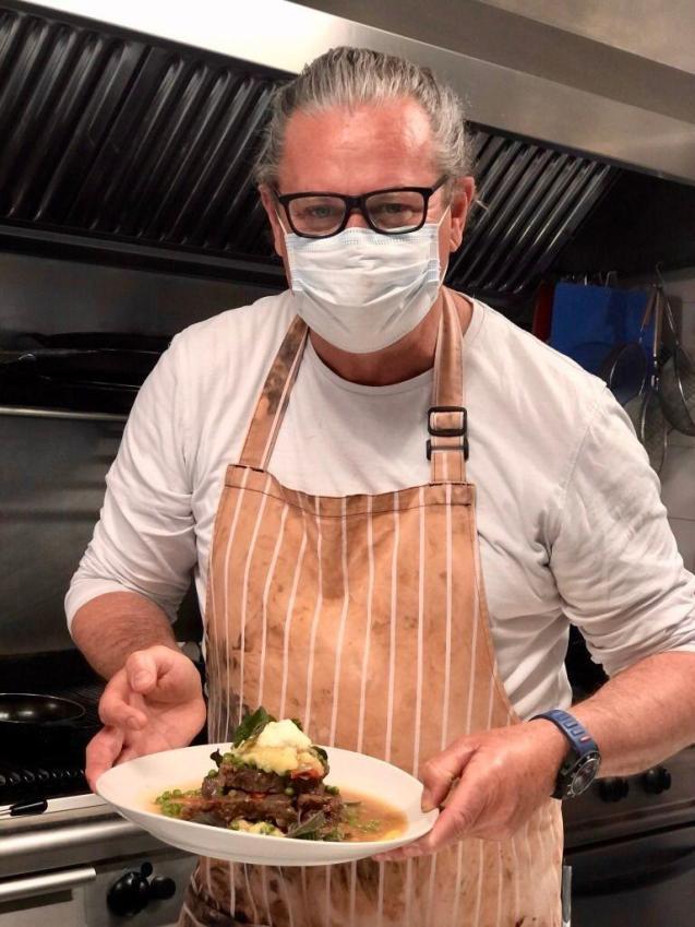 Innovative chef Murray Raft 19.