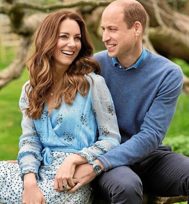 10th Wedding Anniversary of Duke and Duchess of Cambridge.