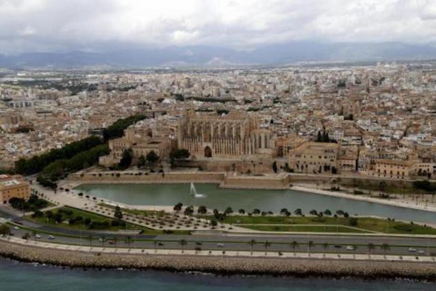Aerial of Palma.
