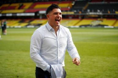 Xisco Muñoz, who has guided Watford back to the Premier League.