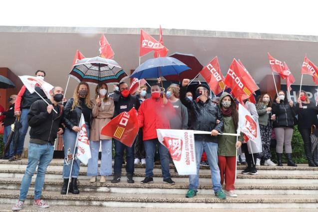 Labour Day in Palma, Mallorca