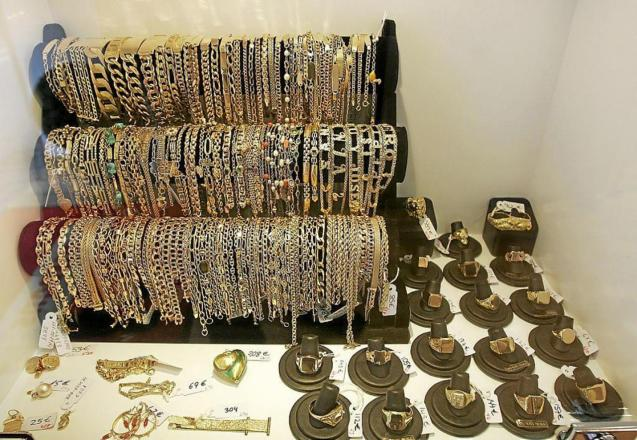 Jewels pawned in Mallorca