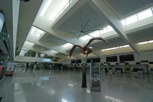 Minorca's airport