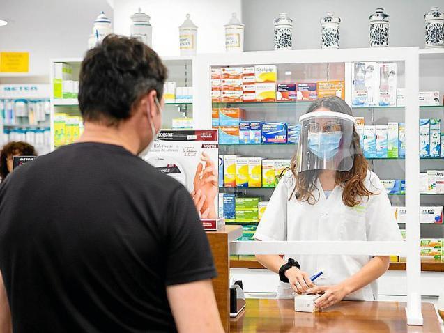 Pharmacy in Menorca