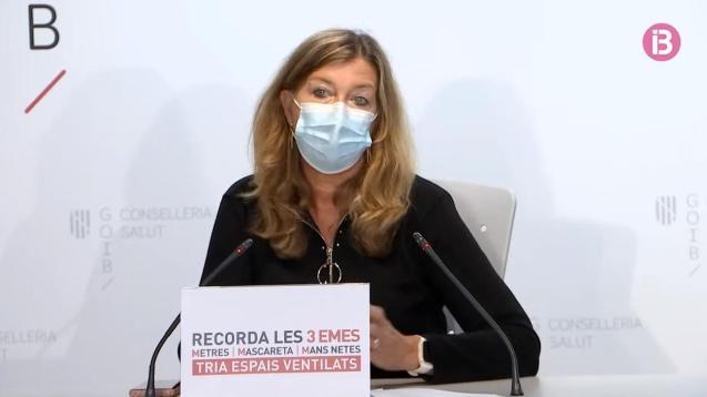 Balearic health minister, Patricia Gómez