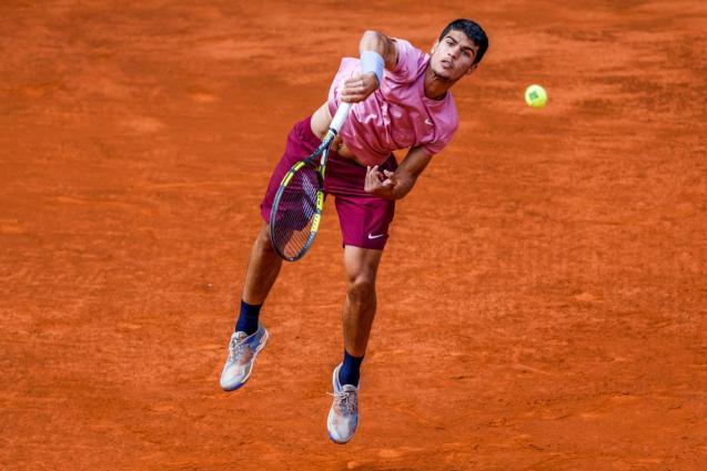 Adrian Mannarino vs Carlos Alcaraz