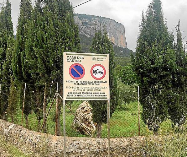 The way to Alaro Castle, Mallorca