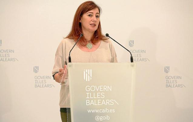Francina Armengol, president of the Balearics