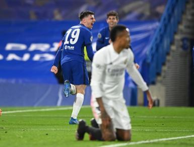 Chelsea v Real Madrid.