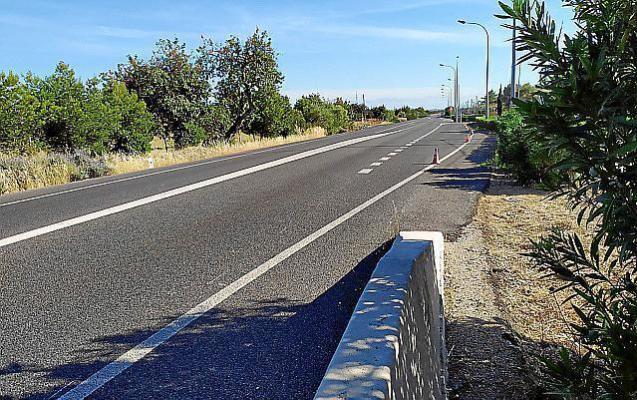 Soller road in Mallorca