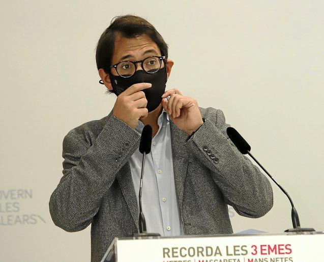 Iago Negueruela has had to accept the limits to his powers
