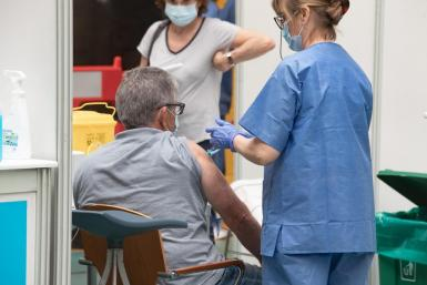 The over-60s are currently being vaccinated.
