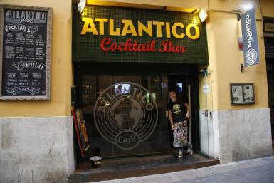 Bar Atlántico in Palma closes down.