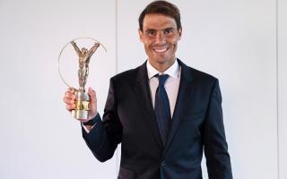 Rafa Nadal wins the 2021 Laureus for best sportsman or woman