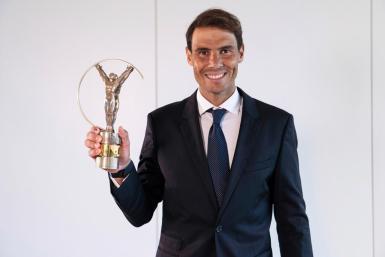 Rafa Nadal wins the 2021 Laureus for best sportsman or woman.