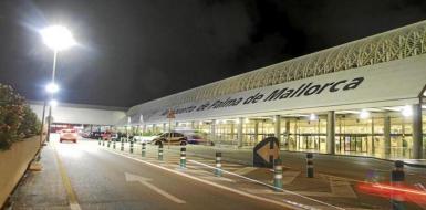 Son Sant Joan Airport, Palma. archive photo.