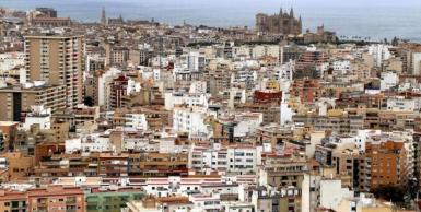 The biggest contrast in income was found in Palma which has some of the poorest neighbourhoods in Spain.