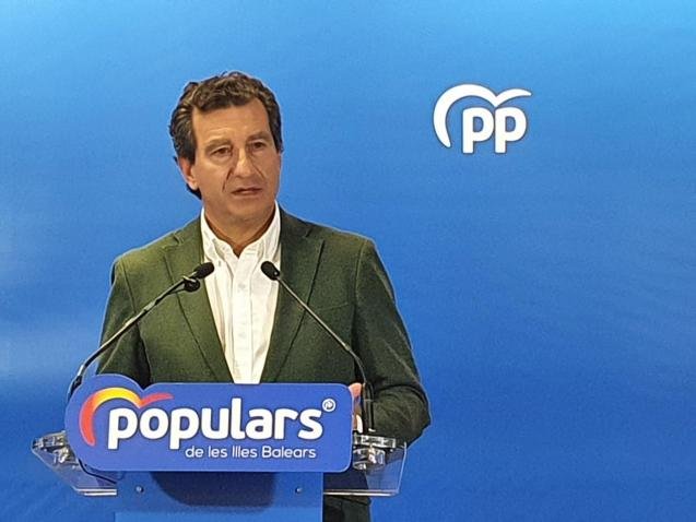 Biel Company, leader of the Partido Popular in the Balearics.