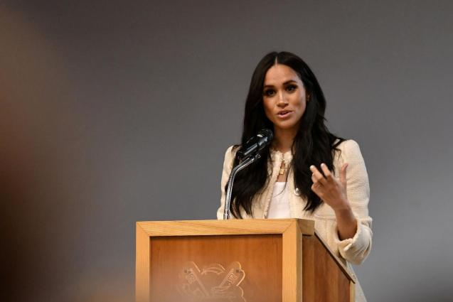 Britain's Meghan, Duchess of Sussex