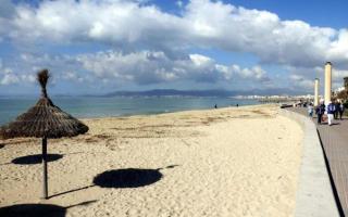 Playa de Palma, Mallorca.