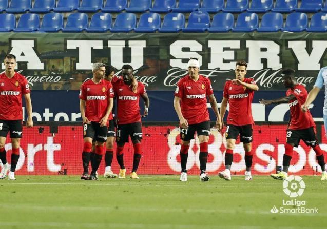 Draw between Malaga and Real Mallorca