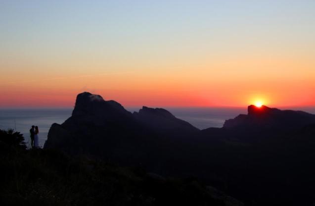 Tramuntana Mountains scene, Mallorca