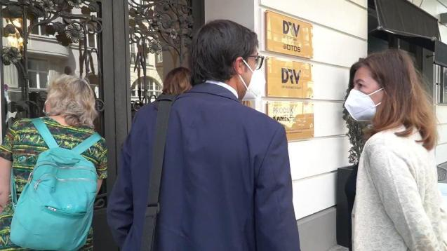 President Armengol of the Balearics in Berlin for meeting with the DRV travel association