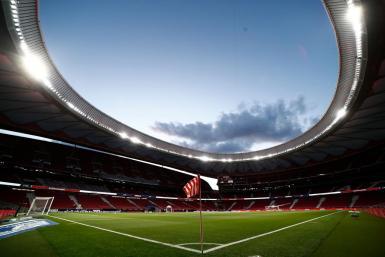 Atletico Madrid v Real Sociedad.