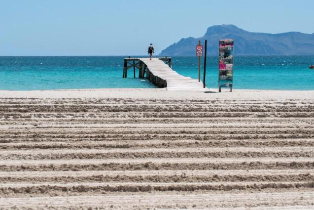 Balearic beaches ready to receive tourists
