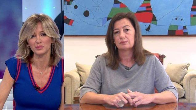 Balearic Prresident: TV interview.