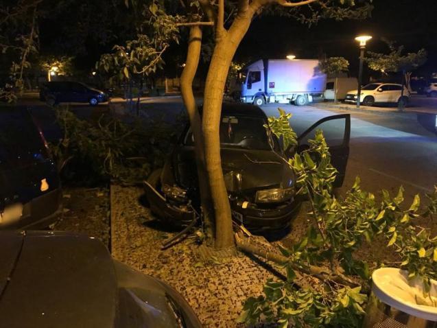 Car crash in Alcudia, Mallorca