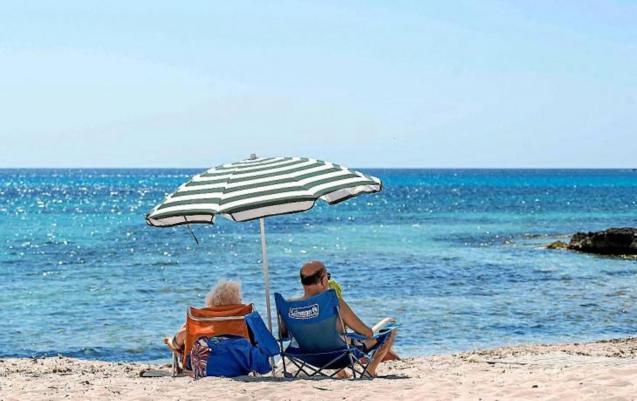 Palma beach, Mallorca.