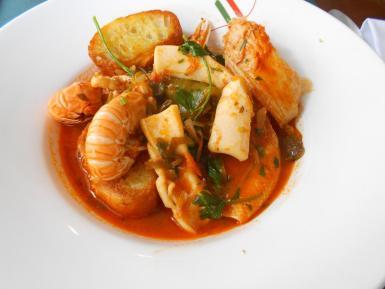 Majorcan fish soup