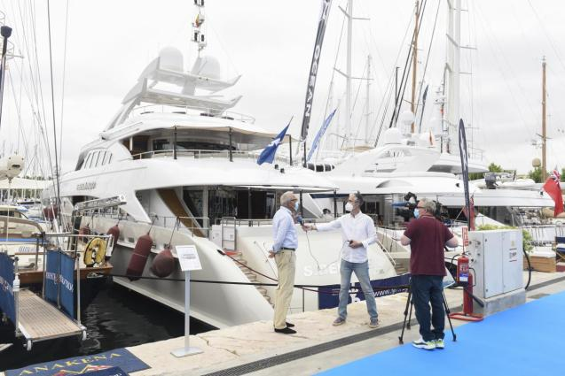 The Palma International Boat Show presents new boats and nautical equipment