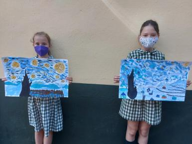 This term Year 4 has been studying paintings by Picasso