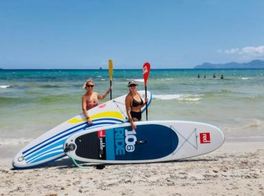 June 2020 on Playa de Muro.