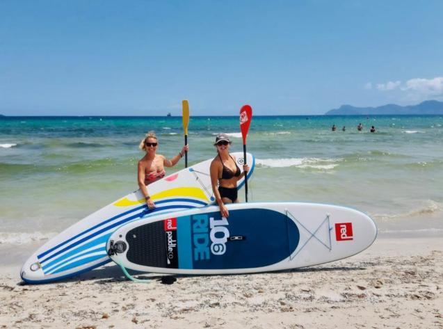 June 2020 on Playa de Muro