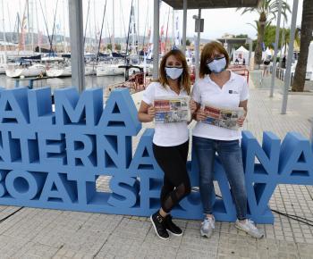 Bulletin cruises at Palma Boat Show