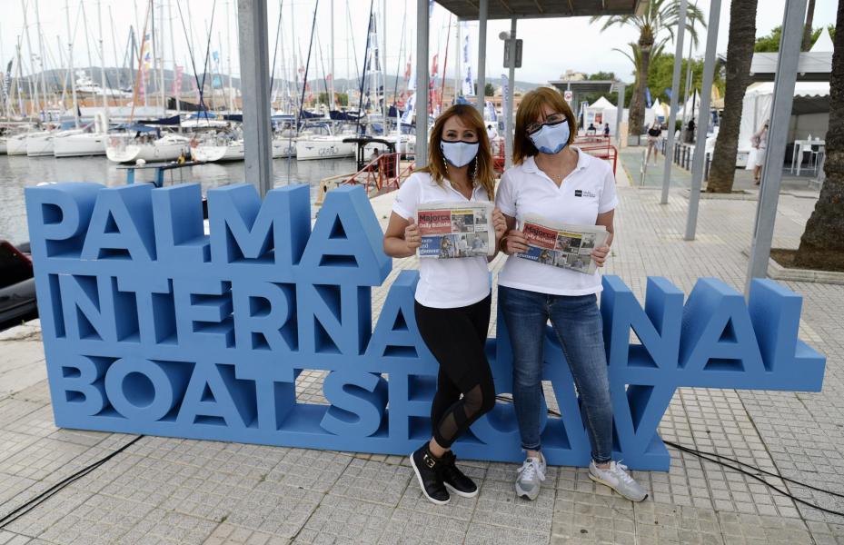 The Palma International Boat Show at Palma's Moll Vell