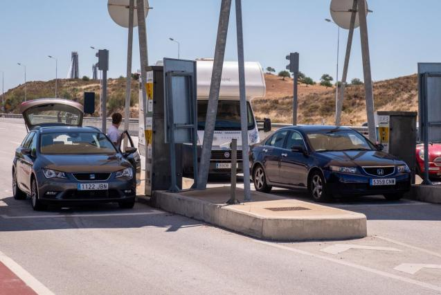 Spain-Portugal land borders
