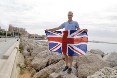 Frank Leavers meets the Brits in Mallorca.
