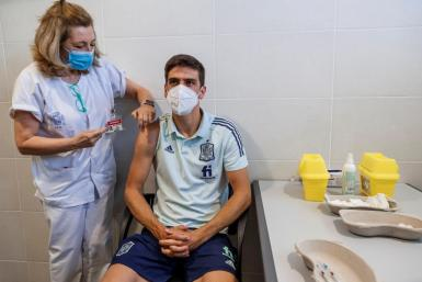 The national team is vaccinated three days before its debut at Euro 2021.